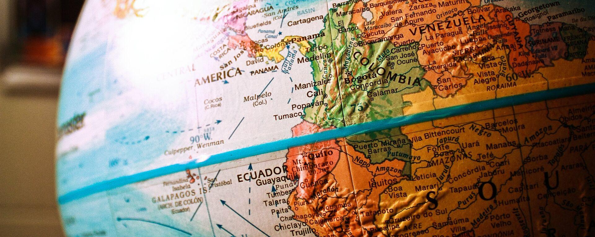 Mapa de América del Sur - Sputnik Mundo, 1920, 31.08.2021
