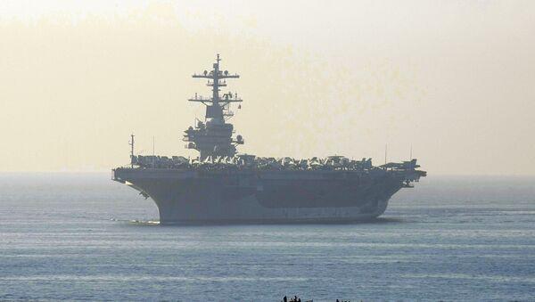El portaviones estadounidense George Bush - Sputnik Mundo