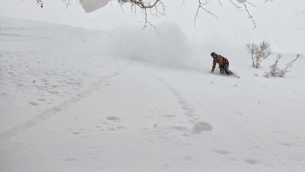 Snowboard (imagen referencial) - Sputnik Mundo
