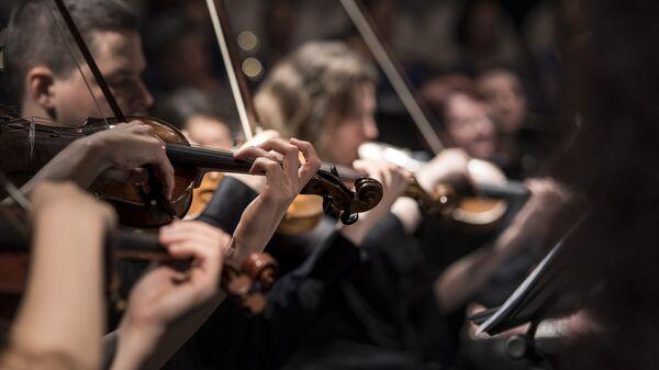 Una orquesta (imagen referencial) - Sputnik Mundo
