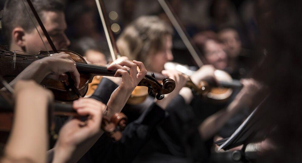 Una orquesta (imagen referencial)