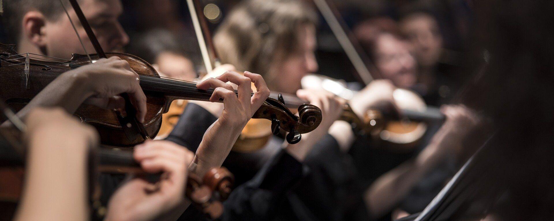 Una orquesta (imagen referencial) - Sputnik Mundo, 1920, 14.05.2021