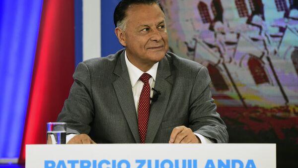 Patricio Zuquilanda, candidato a la Presidencia de Ecuador por el centroizquierdista Partido Sociedad Patriótica (PSP) - Sputnik Mundo