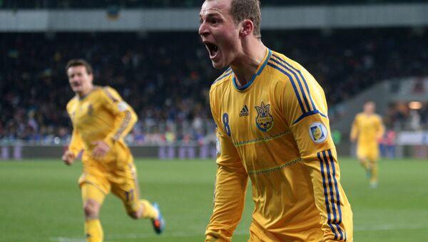 Román Zozulya, futbolista ucraniano - Sputnik Mundo