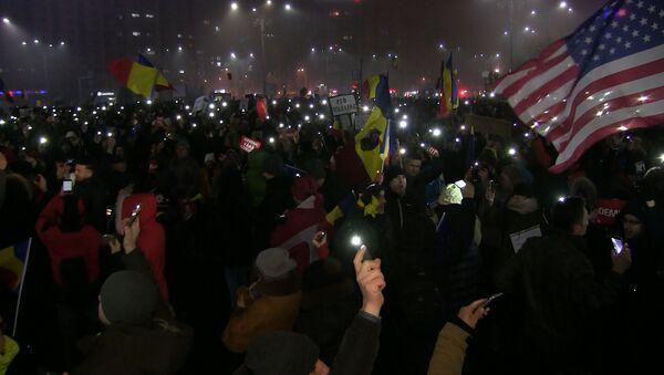 ¿Rumaxit a la vuelta de la esquina? Bucarest, sacudido por las manifestaciones - Sputnik Mundo