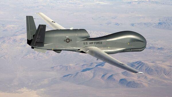 Dron RQ-4 Global Hawk (archivo) - Sputnik Mundo