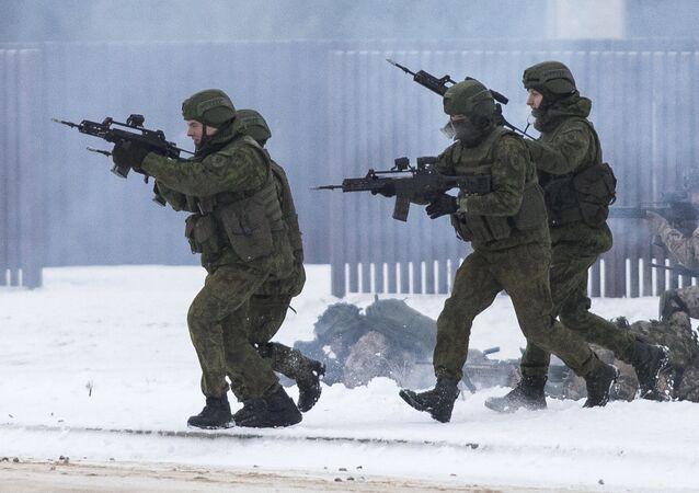 Tropas de la OTAN en Lituania (archivo)