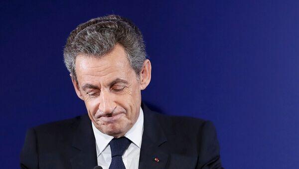 Nicolas Sarkozy, former French president, at his headquarters in Paris , France, November 20, 2016 - Sputnik Mundo