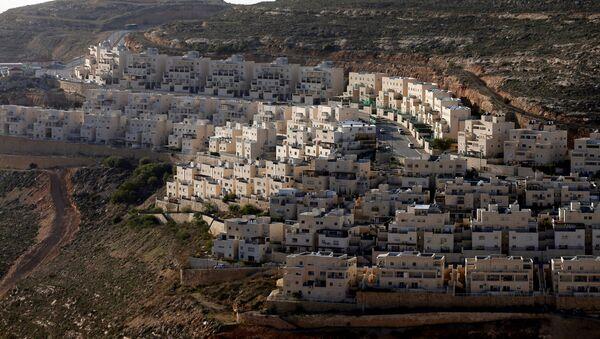 Casas israelíes en territorio palestino ocupado (archivo) - Sputnik Mundo