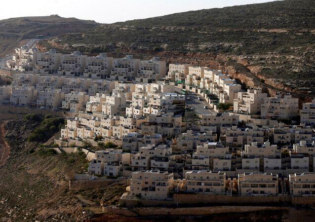 Un asentamiento israelí en Cisjordania