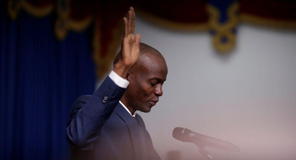 Jovenel Moïse, presidente de Haití