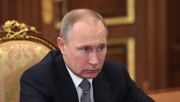 Vladímir Putin, presidente de Rusia (archivo) - Sputnik Mundo