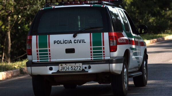 Policía Civil de Brasil - Sputnik Mundo