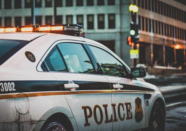 Vehículo de la policía estadounidense