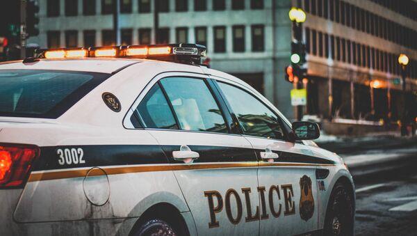 Vehículo de la policía estadounidense - Sputnik Mundo