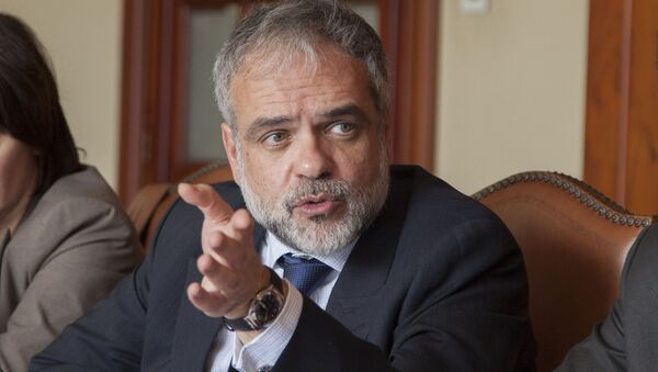 José Luis Cancela, subsecretario de Exteriores de Uruguay - Sputnik Mundo