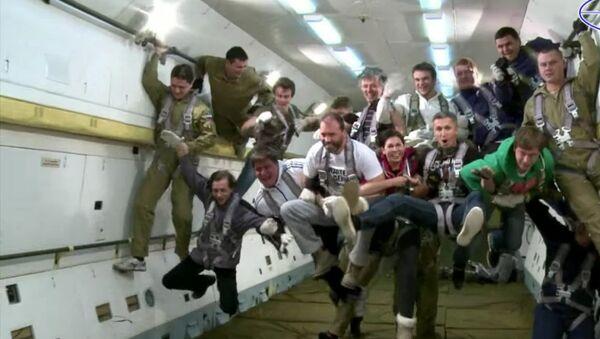 Zero Gravity flight - Sputnik Mundo