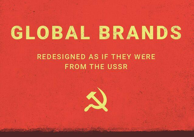 Marcas globales, reimaginadas como si fueran de la URSS
