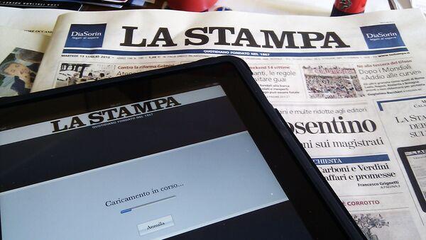 La Stampa, periódico italiano - Sputnik Mundo