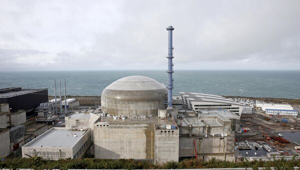 General view of the construction site of the third-generation European Pressurised Water nuclear reactor (EPR) in Flamanville, France - Sputnik Mundo