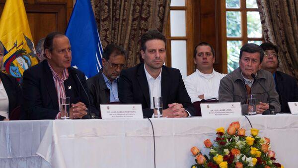 Conversaciones entre el Gobierno de Colombia y el Ejército de Liberación Nacional (ELN) - Sputnik Mundo