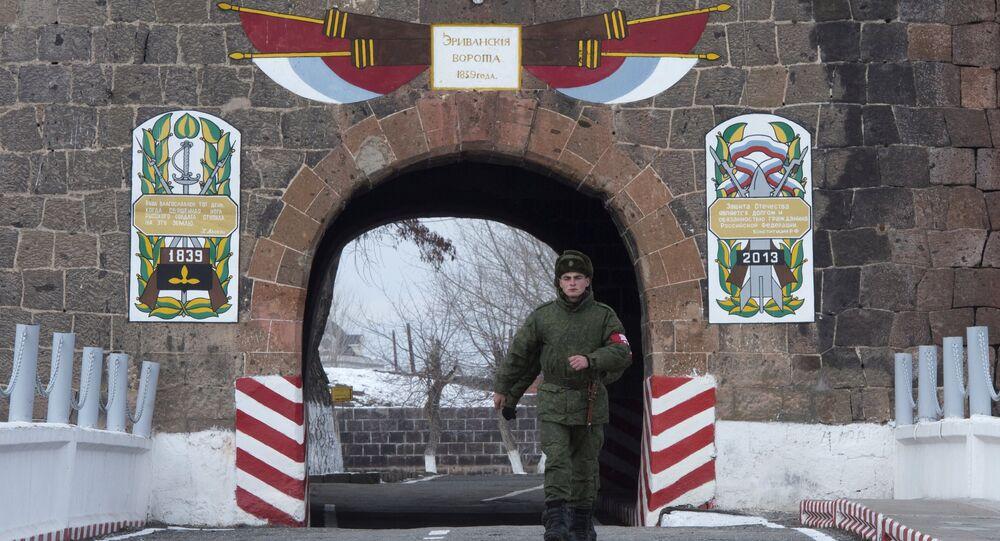 Base militar rusa en Gyumri (Archivo)