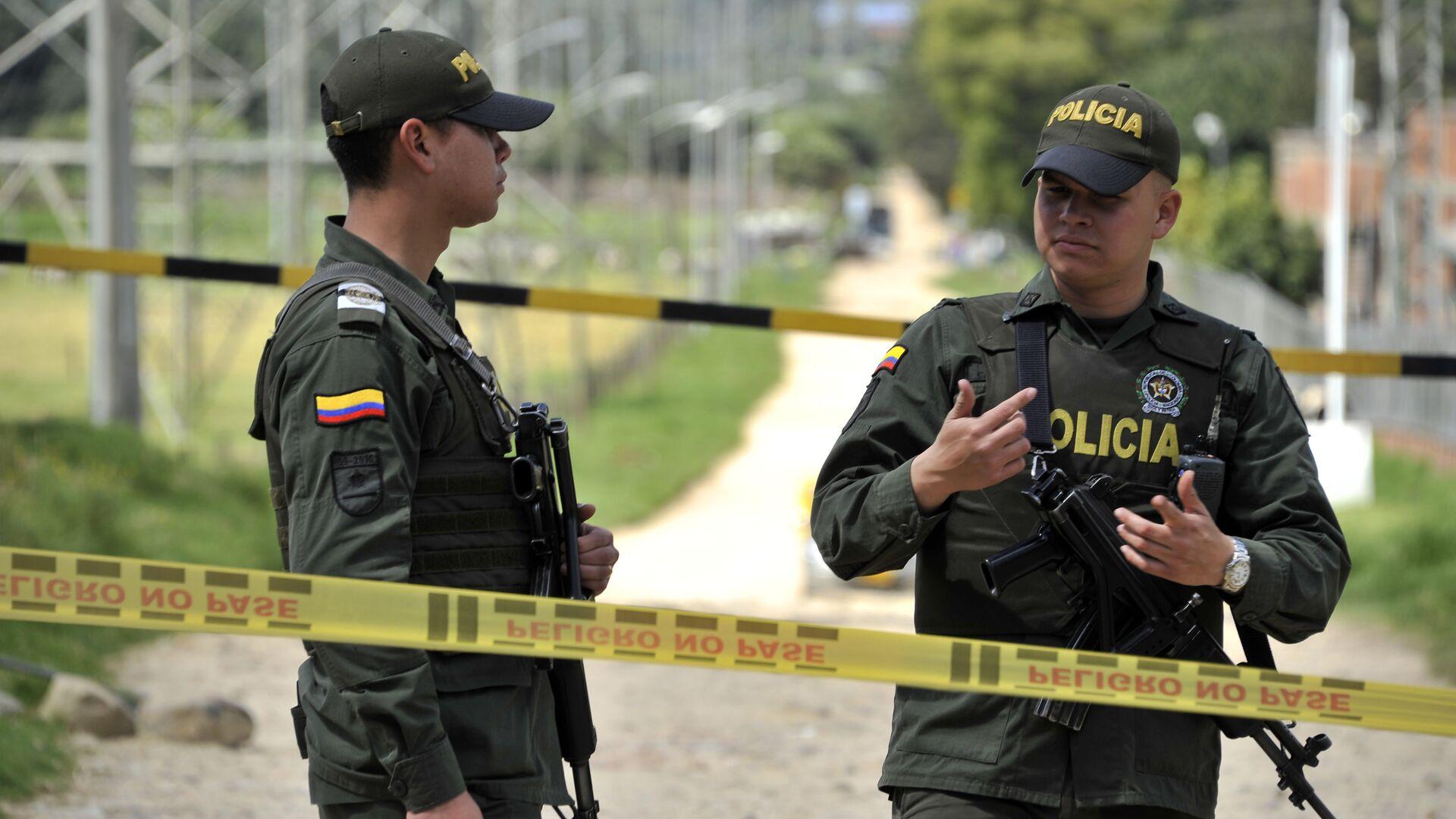 Policía colombiana (Archivo) - Sputnik Mundo, 1920, 20.08.2021