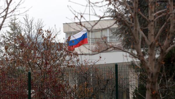 Embajada de Rusia en Ankara - Sputnik Mundo
