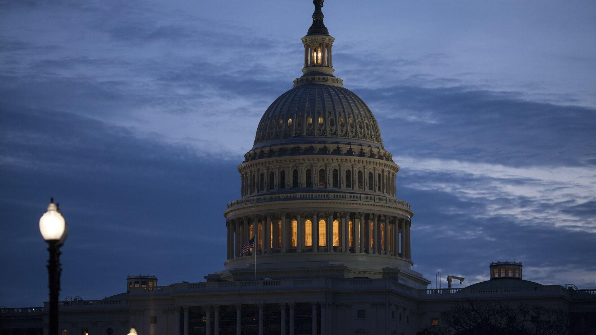 Senado de EEUU en Washington  - Sputnik Mundo, 1920, 26.02.2021