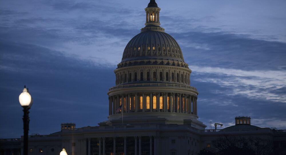 Senado de EEUU en Washington (archivo)
