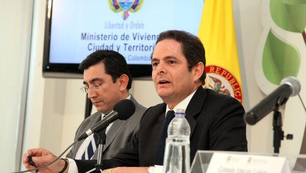 Germán Vargas Lleras, vicepresidente colombiano - Sputnik Mundo