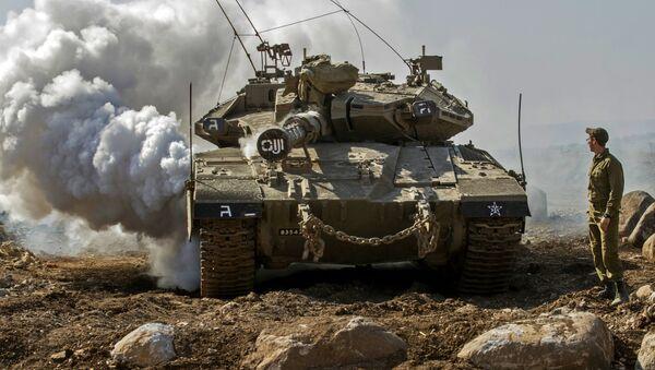 Un tanque israelí Merkava (archivo) - Sputnik Mundo