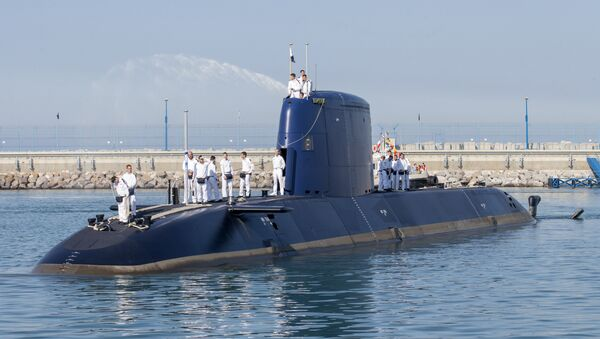Un submarino de la clase Dolphin 2 - Sputnik Mundo
