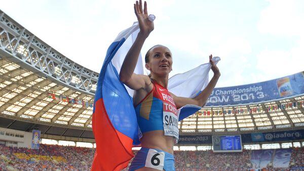 María Savinova, atleta rusa - Sputnik Mundo