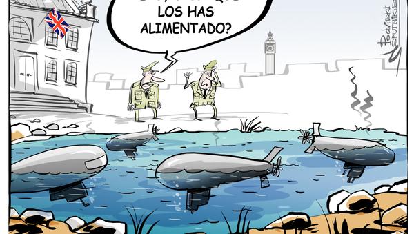 Submarinos maltratados - Sputnik Mundo