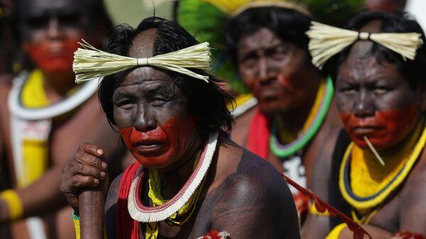 Indígenas de Amazonía - Sputnik Mundo