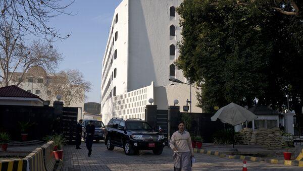 El edificio del Ministerio de Exteriores de Pakistán en Islamabad - Sputnik Mundo