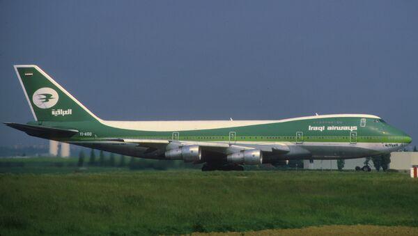 Avión de la compañía Iraqi Airways (imagen referencial) - Sputnik Mundo