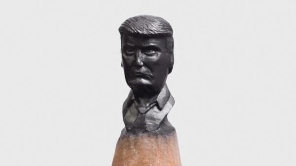 Vídeo: Pequeños Putin y Trump en las minas de lápices - Sputnik Mundo