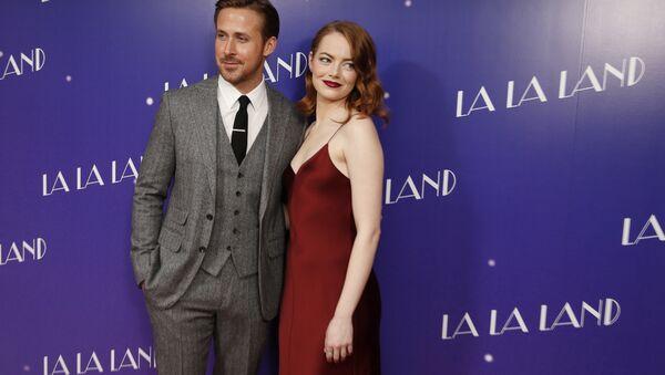 Actores de 'La La Land', Ryan Gosling y Emma Stone (archivo) - Sputnik Mundo