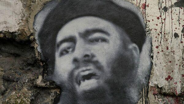 Retrato de Abu Bakr Bagdadi (archivo) - Sputnik Mundo