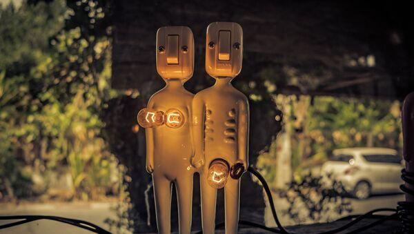 Una pareja (ilustración) - Sputnik Mundo