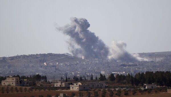 La situación en el norte de Siria (archivo) - Sputnik Mundo
