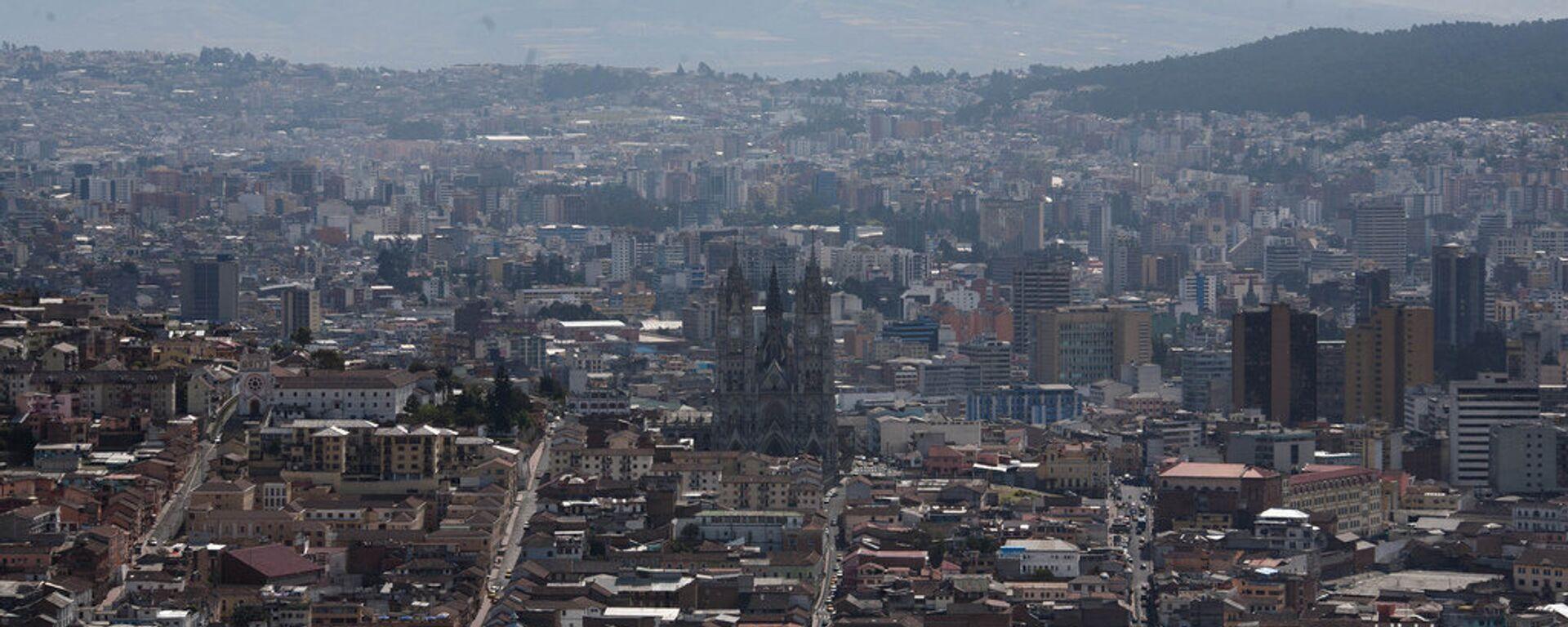 Quito, capital de Ecuador - Sputnik Mundo, 1920, 17.06.2021