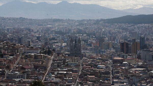 Quito, capital de Ecuador - Sputnik Mundo