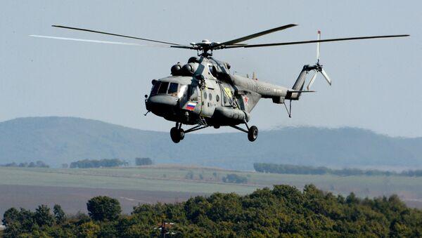 Helicóptero Mi-8 ruso - Sputnik Mundo