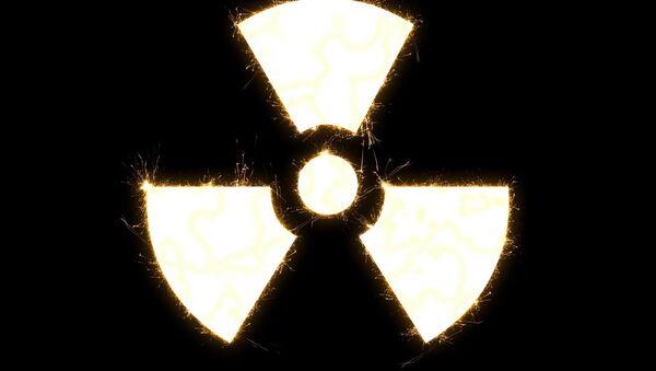 Símbolo de amenaza nuclear - Sputnik Mundo