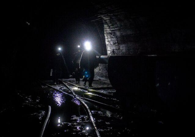 Una mina (imagen referencial)