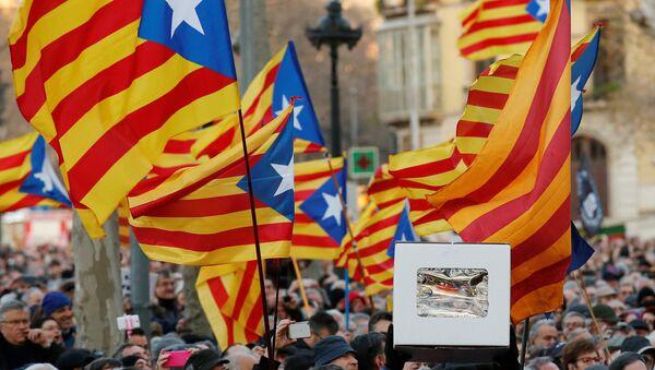 Ciudadanos de Cataluña - Sputnik Mundo