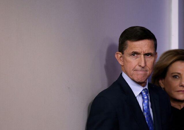 Michael Flynn, exconsejero de Seguridad Nacional de EEUU